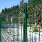 Забор для ограждения поселка жк