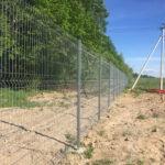 Забор 3D оцинкованный