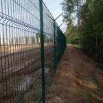 Забор 3д с егозой