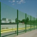 Забор рабица зеленая