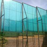 Теннисный забор из поликарбоната