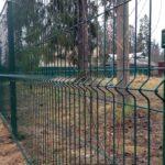Забор 3д зеленый
