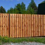Шахматка деревянный забор