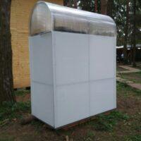 модульный душ кабинка душевая на дачу